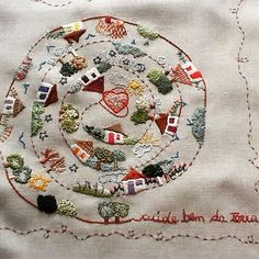 Irresistible Embroidery Patterns, Designs and Ideas. Awe Inspiring Irresistible Embroidery Patterns, Designs and Ideas. Modern Embroidery, Hand Embroidery Designs, Embroidery Art, Embroidery Applique, Cross Stitch Embroidery, Embroidery Patterns, Machine Embroidery, Handmade Crafts, Needlework