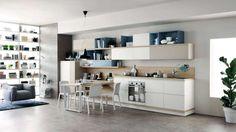 Cucine moderne in legno 2017 - Cucina moderna in legno Scavolini