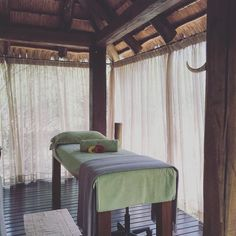 Huge props to Candice for the fantastic body wrap my skin feels fantastic!!! There is something so magic about an outdoor treatment room where the wind and the birds are your soundtrack