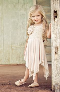 London Tea Rose Dress in Pink from The Couture Baby