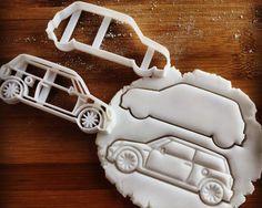 Classic Mini Car Cookie Cutter  biscuit cutter  one of a by Made3D