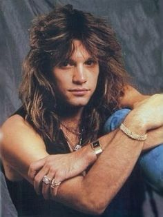 Yeah Boi! Young Jon Bon Jovi!  He still has it to this day....