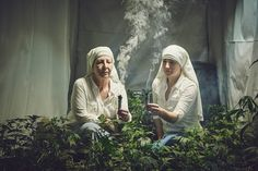 Juxtapoz Magazine - Sisters of the Valley: Nuns Who Grow Weed