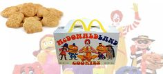 best part of the Happy Meal .... not the prize .... they used to put these cookies in there ..... they had a lemon taste to them