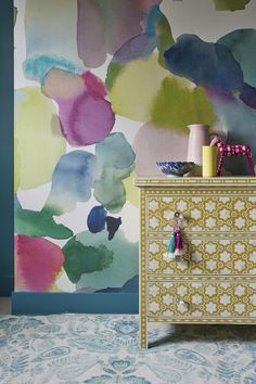 We are so happy to welcome a new brand to Wallpaperdirect, bluebellgray. We are quite frankly in love with the designs.