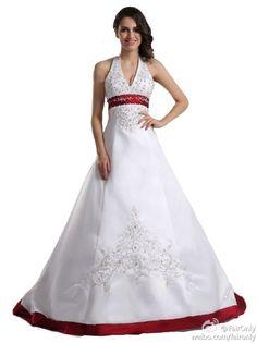 Faironly Halter Wedding Dress Bridal Gown Custom Made Size:6 8 10 12 14 16 18+++