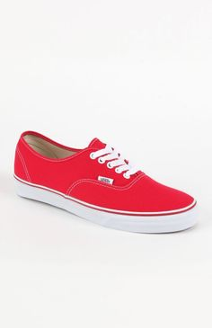 Classic Red Vans#menswearget 5% Cash Backstudentrate.com/...