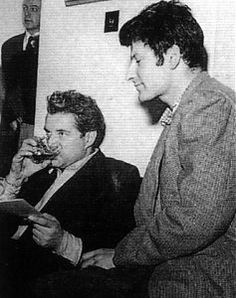 Francis Bacon and Lucian Freud, 1952.
