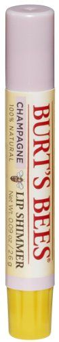 Burts Bees Lip Shimmer Champagne Pack of 4 ** Check out this great product. (Note:Amazon affiliate link)