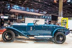 Rolls Royce Phantom I 17EX Maharajas cars stand Salon Retromobile 2014   Report and Photos