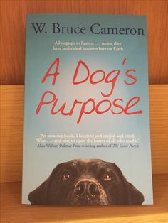 A Dog's Purpose: Why Animal Lovers Should Read This Book | Dog Products Must Have | Cool Dog Products | Best Dog Product Book | Unique Dog Product | http://www.dogtrainingadvicetips.com/dogs-purpose-dog-parents-read-book