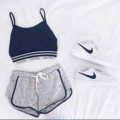 Sport Outfit Shorts Fitness Apparel 33 New Ideas Style Outfits, Mode Outfits, Sport Outfits, Casual Outfits, Summer Outfits, Fashion Outfits, Fashion Trends, Summer Workout Outfits, Gym Outfits