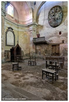 Abandoned cathedral - italy