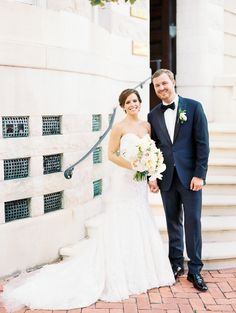 An art deco inspired summer wedding at the Baltimore Engineer's Club by Davey and Krista Jones