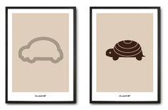 car and turtle by monica ramoneda