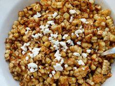 Grilled Mexican Corn Off the Cob Recipe | Pamela Salzman & Recipes