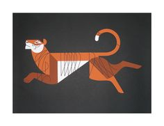 Bengal Print By Eleanor Grosch. $40