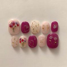 56 ideas gel pedicure toes spring for 2019 Kiss Nails, Toe Nails, Bridal Nails, Wedding Nails, Self Nail, Fall Manicure, Pedicure Nail Art, Cute Nail Art, Cute Nail Designs