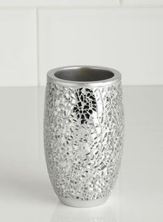 silver crackle glass bathroom accessories. Silver Crackle Mosaic Tumbler  bathroom accessories Home Lighting Furniture Bathroom Range Disco Ball Accessories ASDA direct