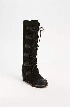 Sorel 'Joan of Arctic' Wedge Boot available at #Nordstrom http://shop.nordstrom.com/s/sorel-joan-of-arctic-wedge-boot/3283521?origin=category=0==0