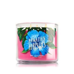 Bougie 3 Mèches Hawaiian Hibiscus Bath and Body Works