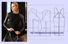 Moldes Moda por Medida: DETALHES DE MODELAÇÃO - 28
