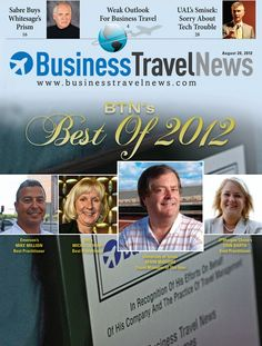 Best of 2012 issue featuring 2012 Travel Manager of the Year and Best Practitioners
