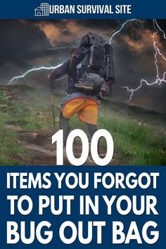 The purpose of this bug out bag list is to remind you of any survival items that you would have put in your bag, if only you had thought of them. Survival Items, Urban Survival, Bug Out Bag, Emergency Preparedness, You Bag, Bugs, Beetle, Insects