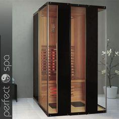 perfect spa Infrarotkabine Wärmekabine Infrarotsauna Infrarotwärmekabine Argos 2