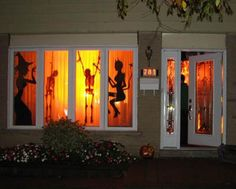 Halloween party decorations #rocking