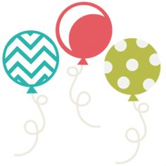 very cool freebie! 2day only! Balloon Set SVG scrapbook birthday svg cut files birthday svg files free svgs free svg cuts
