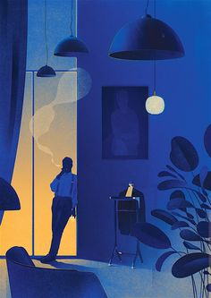 Folio illustration agency, London, UK | Karolis Strautniekas - Editorial ∙…