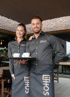 Cafe Uniform, Waiter Uniform, Spa Uniform, Hotel Uniform, Staff Uniforms, Work Uniforms, Corporate Shirts, Corporate Uniforms, Kellner Uniform