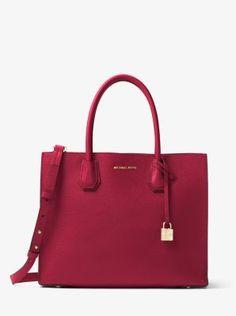 86c655345c1c Mercer Large Pebbled Leather Tote Bag