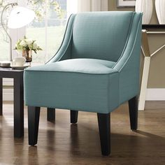 Charlotte Swoop Arm Chair/