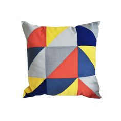 60s styled pillow
