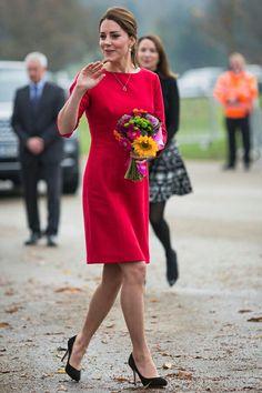 第二子出産間近! キャサリン妃のノーブルなマタニティスタイル。