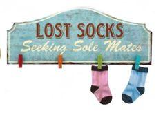 """Lost Socks"" Wooden Sign ...61351"