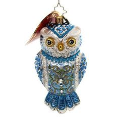 Christopher-Radko-Owl-See-You-in-Winter-Christmas-Ornament