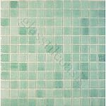 """Absolut Glass Eco Glass Mosaic Blends, 1"""" x 1"""", Sea Blue, Glossy, Green, Glass"""
