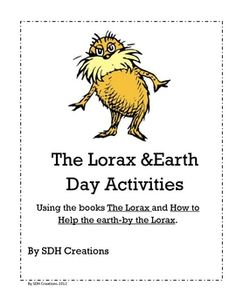 Great unit and books for Earth Day (week)