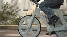 Cycle on the Recycled: A $9 Cardboard Bike Set to Enter Production in Israel   Transportation on GOOD