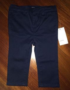 Vince Baby Boy Straight Leg Navy Blue Chinos Size 6M $68 | eBay