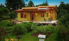 Do you have any idea why this tiny home is so special?  Not only is it beautiful, but it is The Affo ...