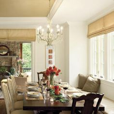 70 Stylish Dining Room Ideas | Build a Banquette | SouthernLiving.com