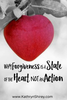Forgiveness isn't just something we do, but how we live. It's the state of our hearts. It's extending the forgiveness we received from Jesus to others.