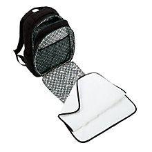 Backpack Baby Bag in Classic Black   Vera Bradley