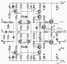 Amplifier, High Power, IRFP460, Mosfet, Power Amplifier