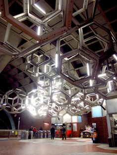 Metro-stations-Namur Station Lighting, Montreal, Canada