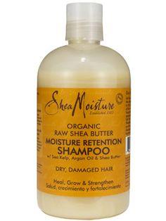 Shea Moisture Organic Raw Shea Butter Moisture Retention Shampoo